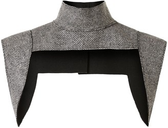 Vera Wang Herringbone Harness Knitted Top