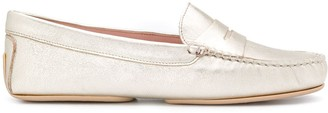 Pretty Ballerinas Josephine metallized loafers
