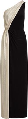 Ralph Lauren Metallic Jersey Gown