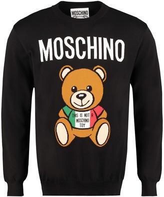 Moschino Intarsia Cotton Sweater
