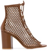Gianvito Rossi caged high heel sandals