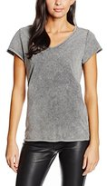 Blend of America Women's Dazzy V Neck Tr T-Shirt,34 (manufacturer size: XS)