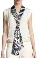 Vince Camuto Tribal Racer Oblong Scarf