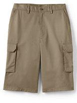 Classic Men's Stain Resistant Cargo Chino Shorts-Khaki