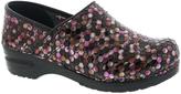 Sanita Purple Professional Hex Leather Clog - Women