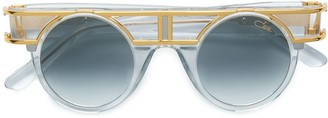 Cazal mod framed round sunglasses