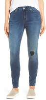 NYDJ Ami Distressed Stretch Skinny Jeans (Sterling)