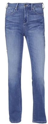 NYDJ Marilyn Mid-Rise Straight Leg Jeans