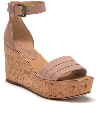 Splendid Travis Cork Wedge Sandal