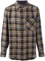 Rag & Bone checked shirt - men - Cotton/Wool - M