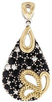 Lagos Diamond & Black Spinel Nightfall Pendant
