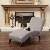 Christopher Knight Home Finlay Fabric Chaise Lounge