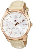 Tommy Hilfiger Women's Analogue Watch with Metallic Dial Analogue