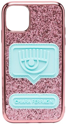 Chiara Ferragni stud embellished iPhone 11 case