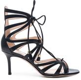 Nicholas Kirkwood Nara Laceup Leather Heels