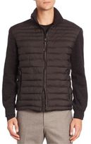 Strellson Four Seasons Knitted & Quilted Isocloud Jacket