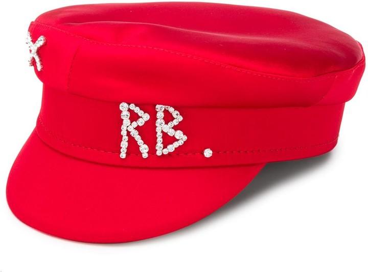 Ruslan Baginskiy Embellished Logo Plaque Hat