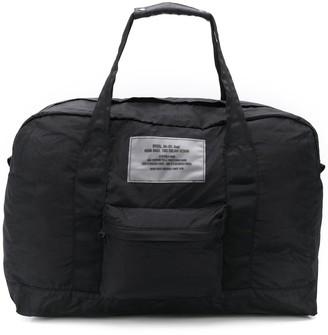 Diesel Packable Dictionary Logo Duffle Bag