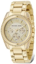 Michael Kors Gold-Tone Chronograph Watch, 39mm