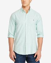 Polo Ralph Lauren Men's Big & Tall Striped Stretch Oxford Sport Shirt