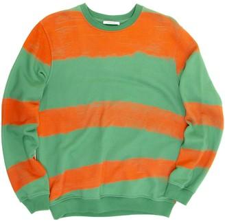 Carven Green Cotton Knitwear & Sweatshirts