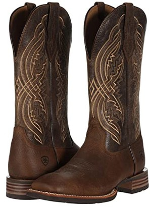 Ariat Double Kicker (Earth/Brooklyn Brown) Cowboy Boots