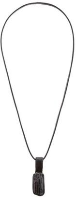 eskandar Onyx Rough Cut Pendant