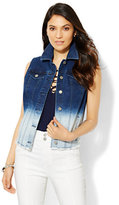 New York & Co. Ombre Denim Vest