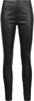 Veronica Beard Leather Leggings