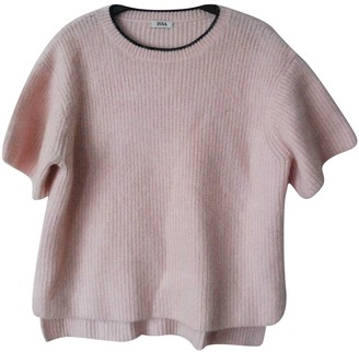 Issa Pink Cashmere Tops
