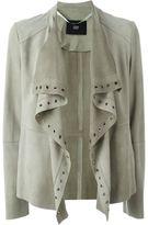Steffen Schraut leather jacket - women - Goat Suede - 38