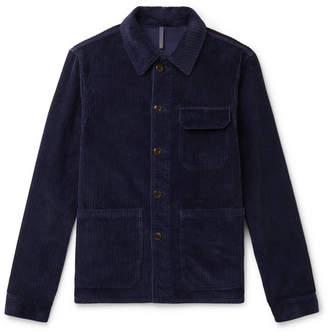 Incotex Cotton-Corduroy Shirt Jacket