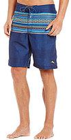 Tommy Bahama Baja Skyros Striped Twill Board Shorts