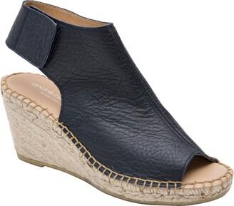 Andre Assous Flora Espadrille Wedge Shield Sandal