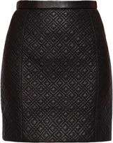 Jason Wu Quilted Leather Skirt