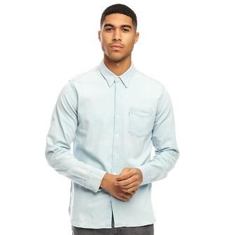 Levi's Sunset 1 Pocket Long Sleeve Shirt Super White Light