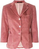 Tagliatore corduroy fitted blazer