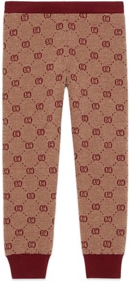 Gucci Children's GG wool legging