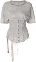 Unravel Project corset bodice T-shirt