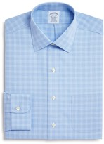 Brooks Brothers Tonal Glen Plaid Non-Iron Classic Fit Dress Shirt