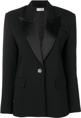 Faith Connexion jewelled button blazer