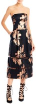 Nicole Miller Firework Flower Trim Dress
