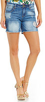 KUT from the Kloth Gidget Frayed Hem Shorts