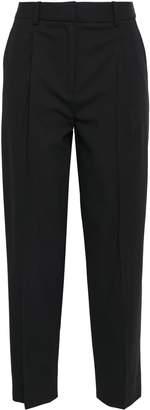Diane von Furstenberg Cropped Wool Tapered Pants