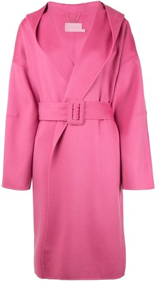 Zimmermann Belted Hooded Coat