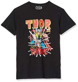 MERCHCODE Men's Marvel Thor Tee M T-Shirt, M