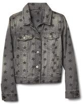 Gap 1969 Grey Star Denim Jacket