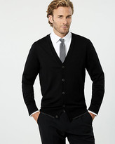 Le Château Knit Button-Front Cardigan