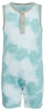 First Impressions Baby Boys Tropical-Print Cotton Sunsuit, Created for Macy's