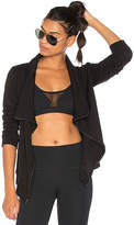 Vimmia Soothe Zip Up Jacket in Black. - size L (also in M,S,XS)